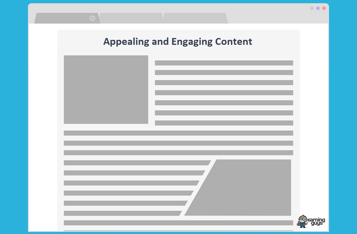 Appealing and Engaging Content