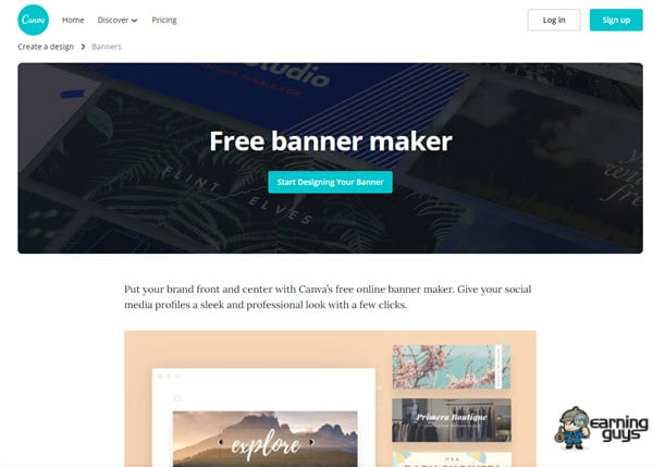 Canva Design Banner Ads