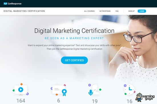 GetResponse Digital Marketing Certification