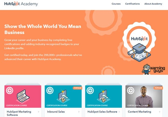HubSpot Academy Digital Marketing Certification