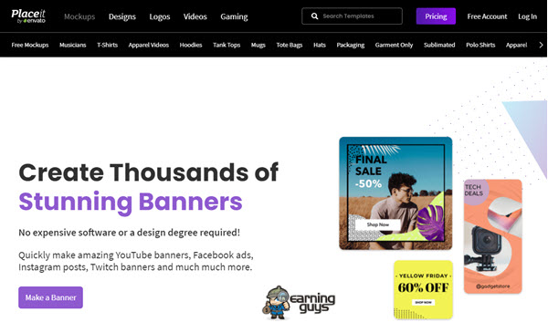 Placeit Online Banner Maker
