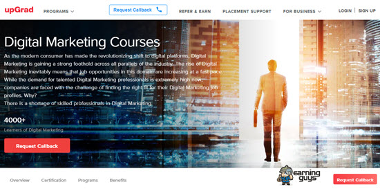 upGrad Digital Marketing Courses