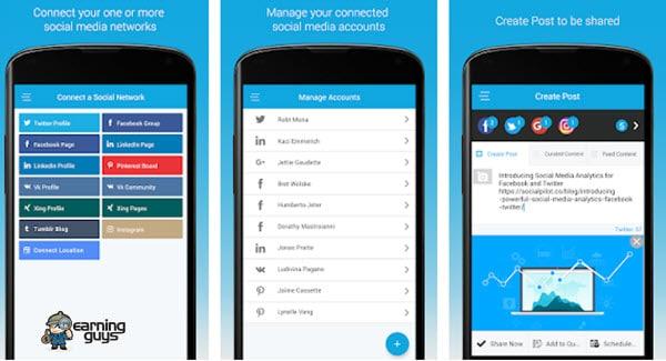 SocialPilot App