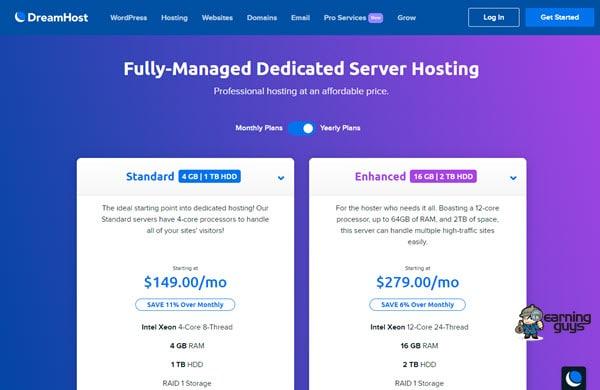 DreamHost Dedicated Servers