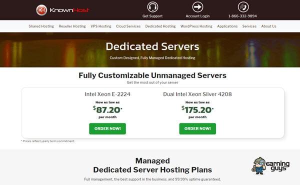 KnownHost Dedicated Server