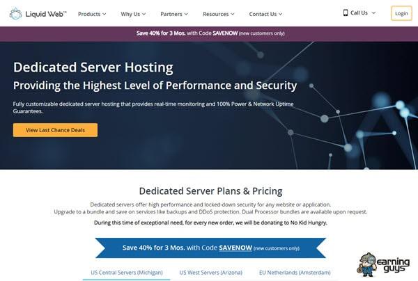 Liquidweb Dedicated Server Hosting
