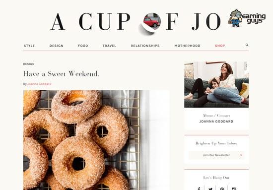 Cup of Joe Style Blog