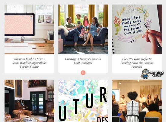 Design Sponge daily Blog
