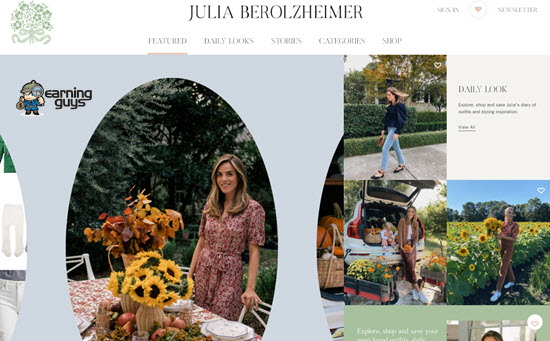 Julia Berolzheimer Blog