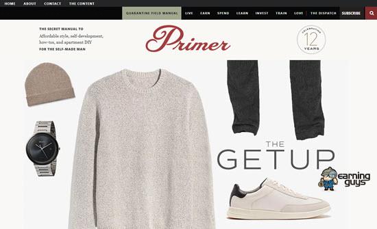 Primer Magazine Lifestyle Blog