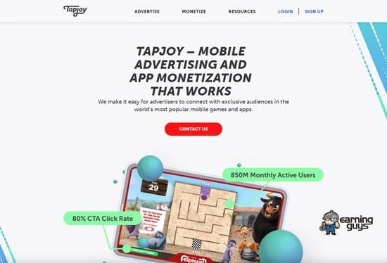 Tapjoy PPI Network