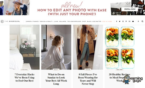 The Everygirl Lifestyle Site