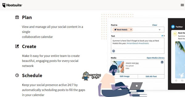 Hootsuite Post Scheduler for Instagram