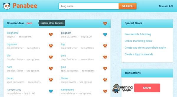 Panabee Blog Name Generator