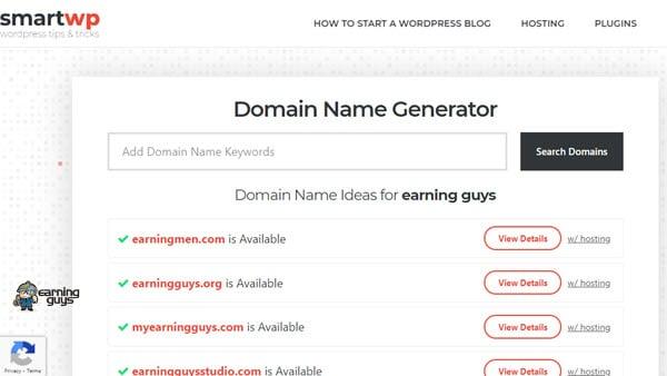 SmartWP's Name Generator