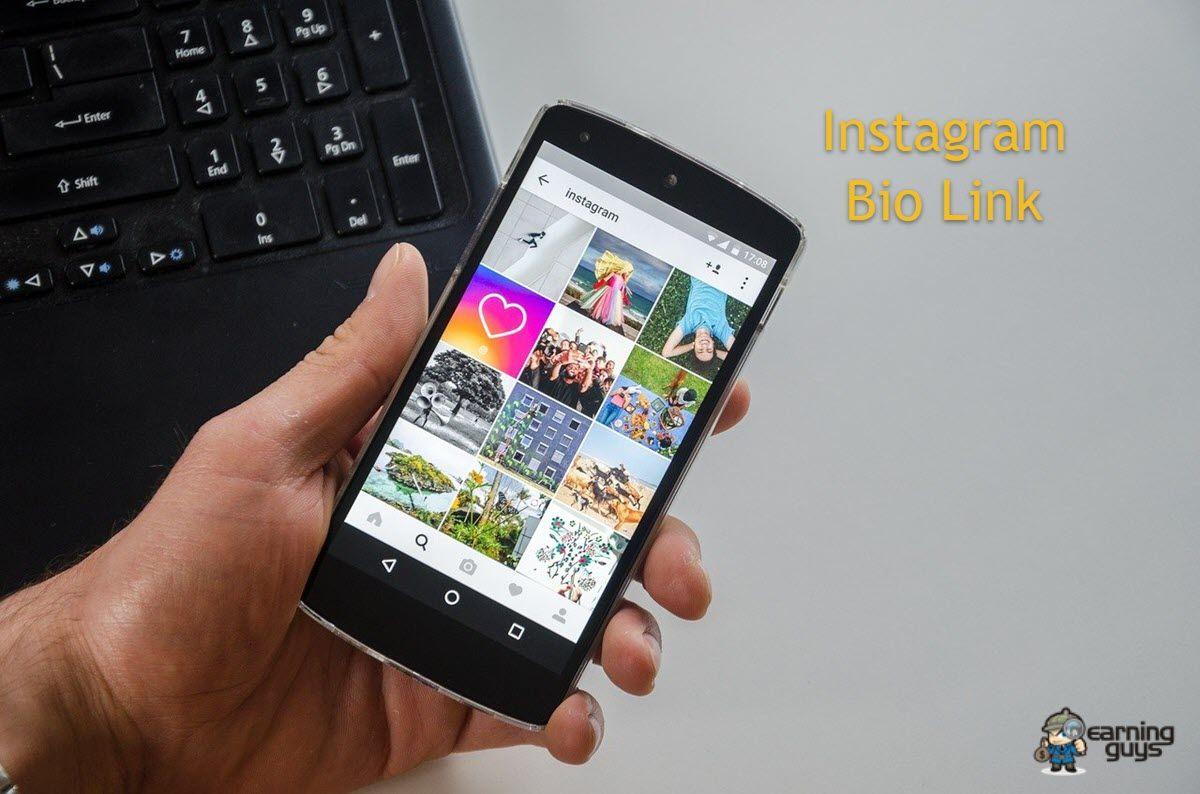 Instagram Bio Link Tools