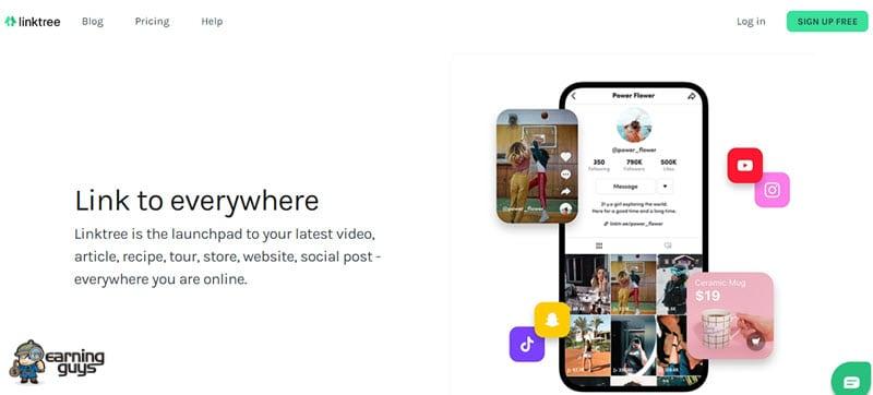 Linktree Instagram Bio Link Tool