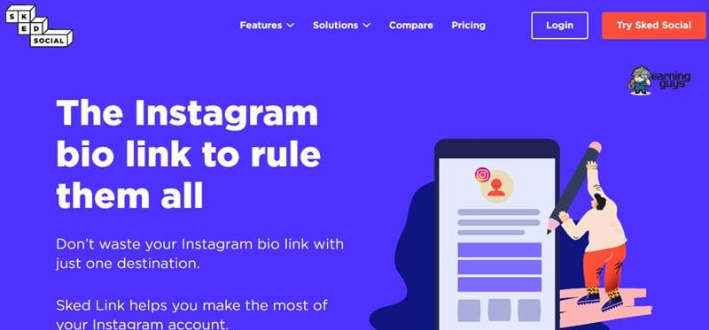 Sked Link Instagram Link