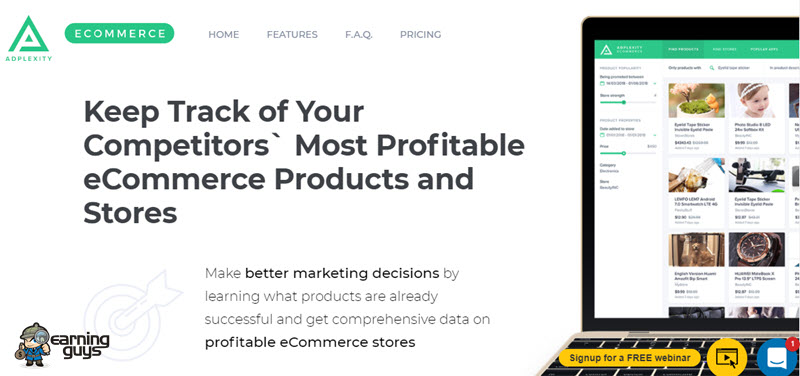 AdPlexity eCommerce