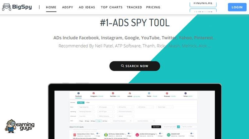 BigSpy Facebook Ad Spy Tool