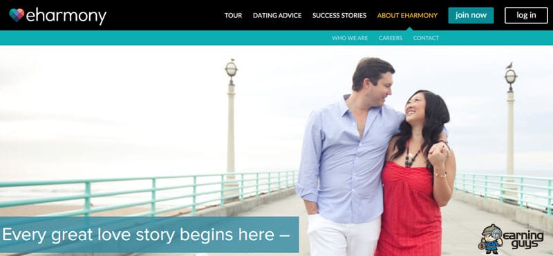 eHarmony Dating Affiliate Programs