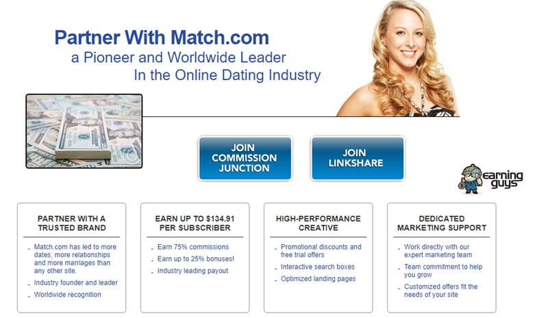 Match Dating Affiliate Programs