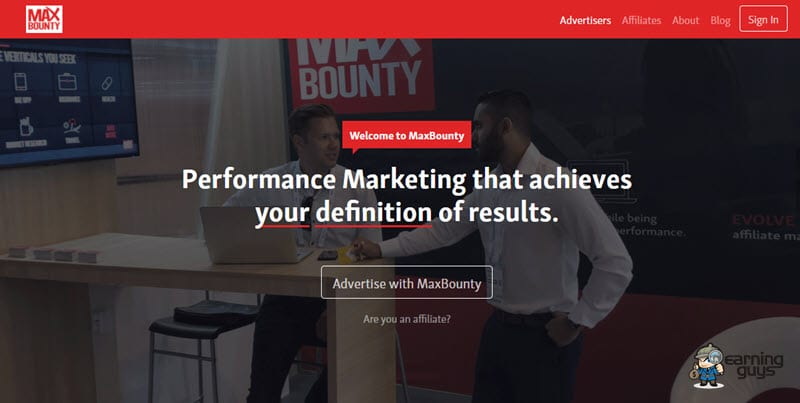 MaxBounty CPA Dating Affiliate Network