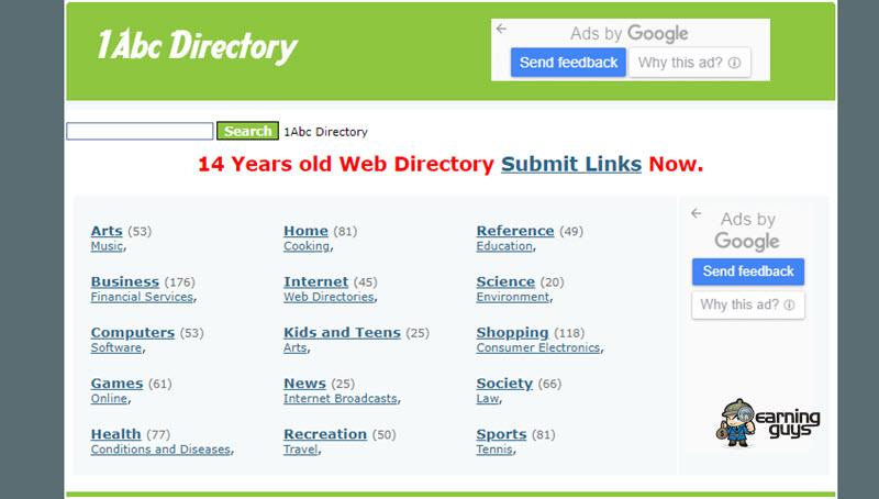 1Abc Blog Directory