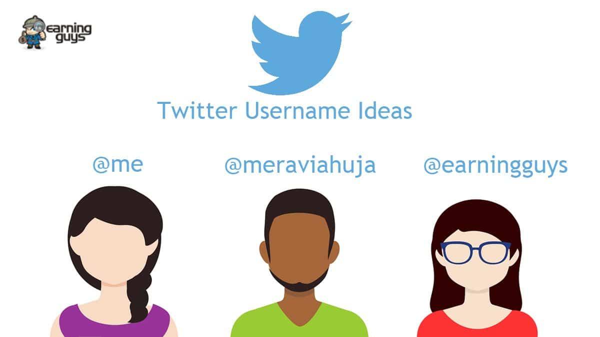 Good Twitter Username Ideas