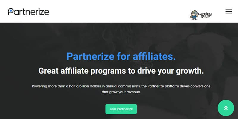 Partnerize CPS Affiliate Network