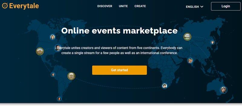 everytale Webinar Software