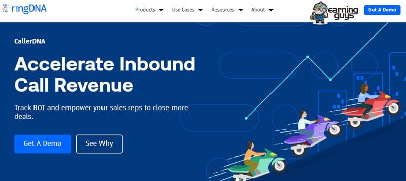 RingDNA sales engagement platform