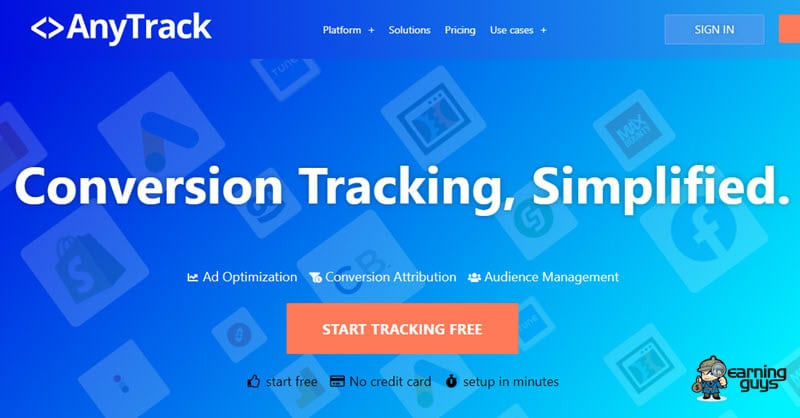 Any Track CPA Link Tracker