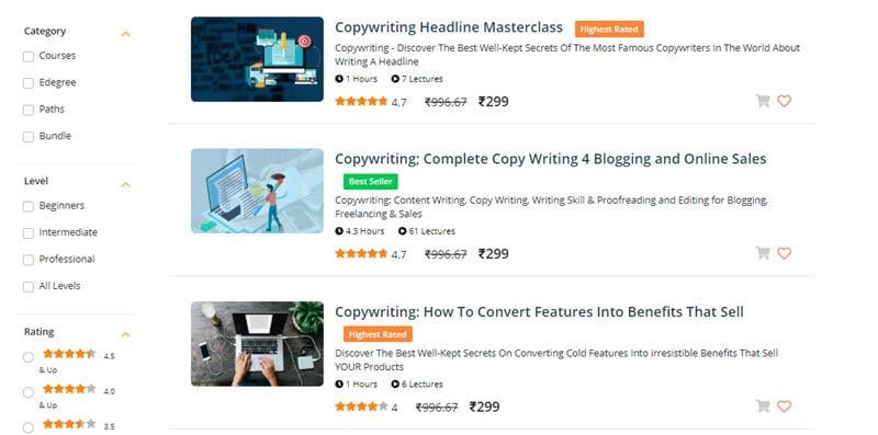Eduonix Copywriting Courses