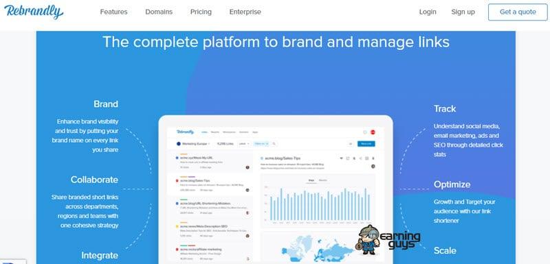 Rebrandly Link Tracker