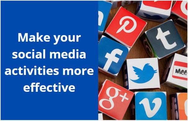 Social Media Activities More Effective
